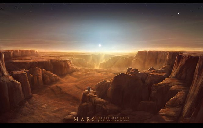 mars__valles_marineris_by_grafik-d1yzdxv
